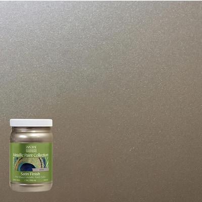 1 qt. Nickel Water-Based Satin Metallic Interior Paint