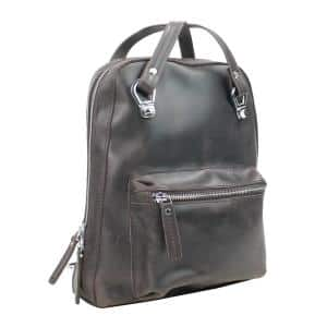 11 in. Small Full-Grain Cowhide Leather Backpack