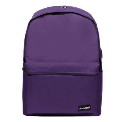 17 in. Purple Classic Laptop Backpack