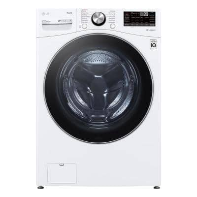 27 in. 5 cu. ft. White Ultra Large Capacity Front Load Washing Machine with TurboWash360, Steam