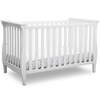 Lancaster Bianca White 3-in-1 Convertible Crib