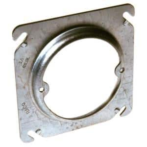 4 in. Square Fixture Cover Raised 3/4 in.