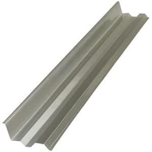 4 ft. Solar Grey Side Polycarbonate Roof Panel Ridge