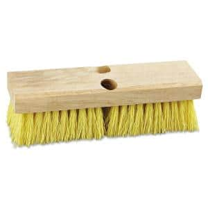 10 in. Polypropylene Bristles Deck Brush Head