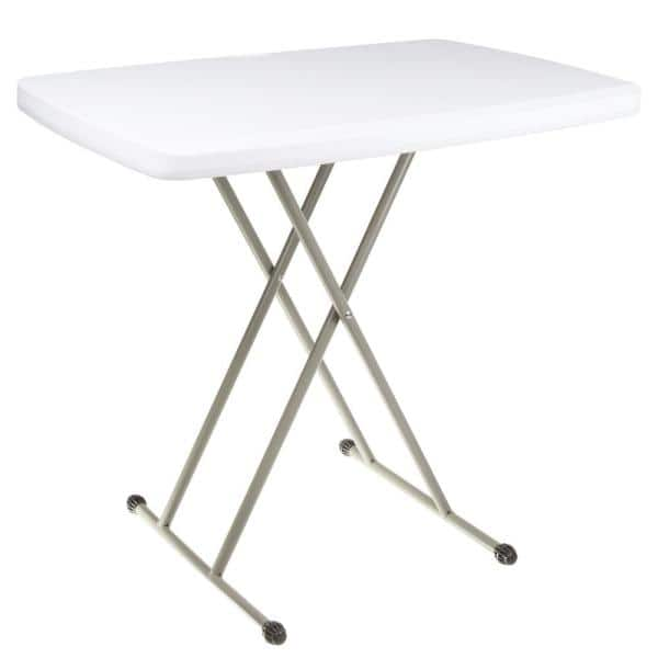Everyday Home Foldable Polyethylene Table And Tv Tray Hw0200124 The Depot