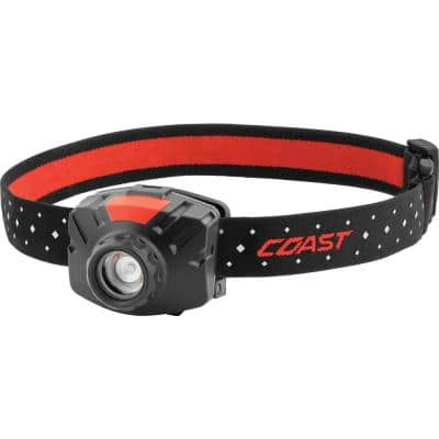FL60R 450 Lumens Rechargeable LED Headlamp, Accessories Included