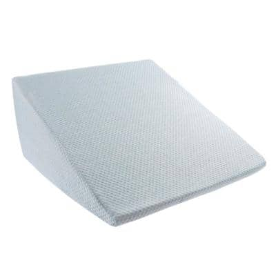 Hypoallergenic Wedge Memory Foam Pillow with Bamboo Fiber Cover