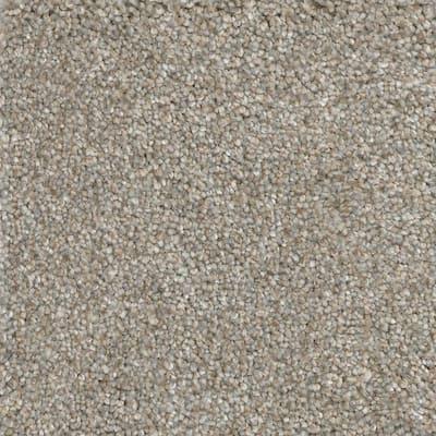 8 in. x 8 in. Texture Carpet Sample -  Soft Breath I -Color Lancelot