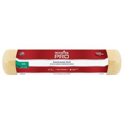 14 in. x 3/4 in. Pro American Contractor High-Density Knit Fabric Roller
