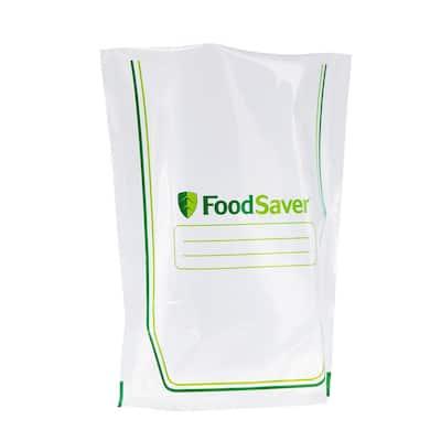 Easy Fill Quart Sealer Bags for Vacuum Sealer (Set of 16 Bags)