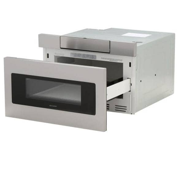 1 2 Cu Ft 24 In Microwave Drawer