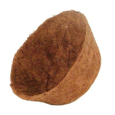 12 in. AquaSav Coconut Liner for hanging baskets
