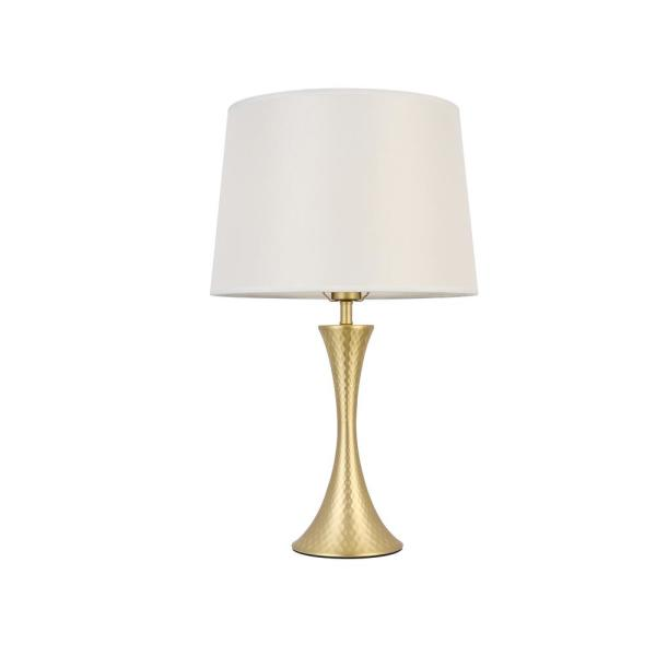 Casainc 21 5 In Abrasive Gold Plating, Home Depot Table Lamps For Bedroom