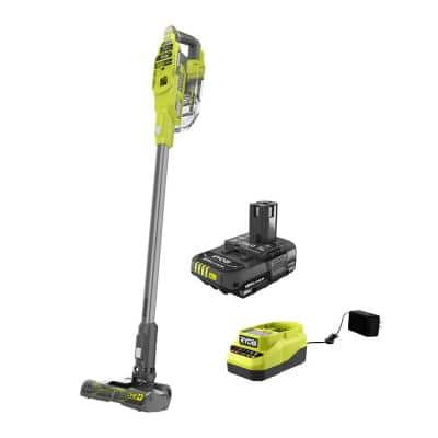 ONE+ 18V Brushless Cordless Compact Stick Vacuum Cleaner with 2.0 Ah Battery and Charger