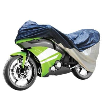 Detailer's Preference Polypropelene 90 in. L x 58.8 in. W x 132 in. H Small/Medium Motorcycle Cover