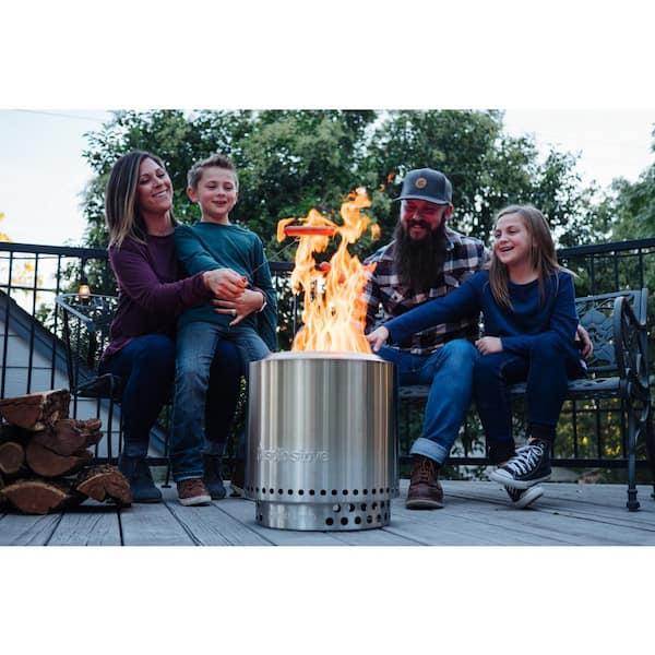 Solo Stove Ranger Campfire Pit. Short Review First Time Use ... - Solo Stove Ranger Fire Pit