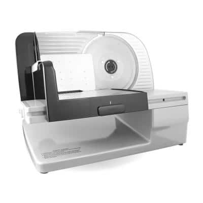 Premium in Silver Electric Food Slicer