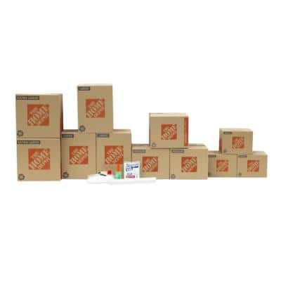11-Box Bedroom Moving Box Kit