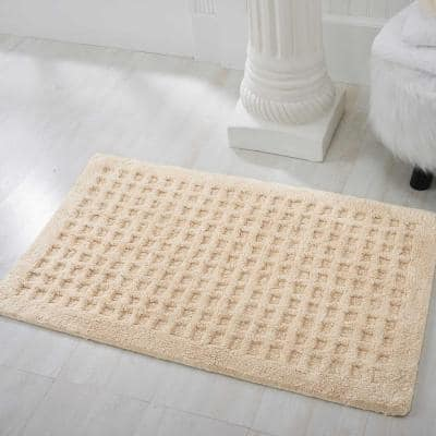 Plush Tan 2 ft. x 3 ft. Solid Transitional Area Rug
