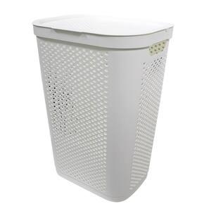 60 L Laundry Hamper White