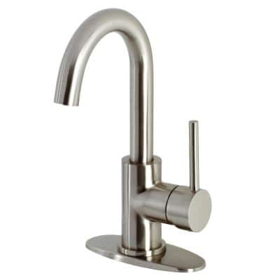 Concord Single-Handle Bar Faucet in Brushed Nickel