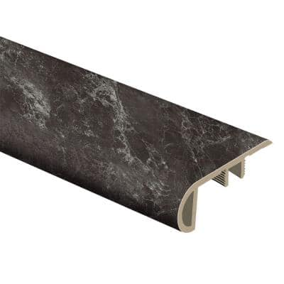 Dragon Glass Limestone 1 in. T x 2-1/2 in. W x 94 in. L Vinyl Stair Nose Molding