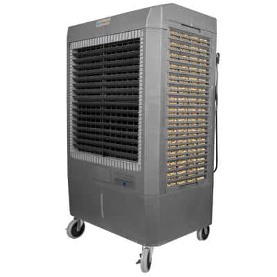 5,300 CFM 3-Speed Portable Evaporative Cooler (Swamp Cooler) for 1,600 sq. ft.