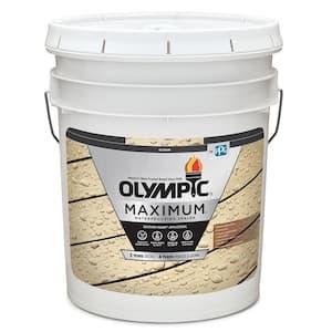 Maximum 5 Gal. Clear Exterior Waterproofing Sealant Low VOC