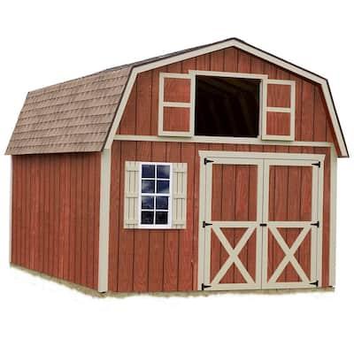 Millcreek 12 ft. x 16 ft. Wood Storage Shed Kit