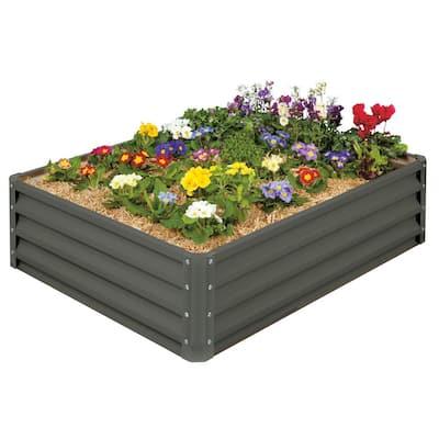 Raised Garden Bed- Galvanized Metal