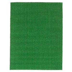 Evergreen 2 ft. x 2 ft. Green Artificial Grass Area Rug