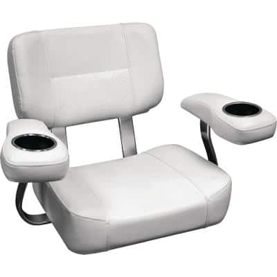 Pro Series Offshore Helm Chair in Arctic Ice White