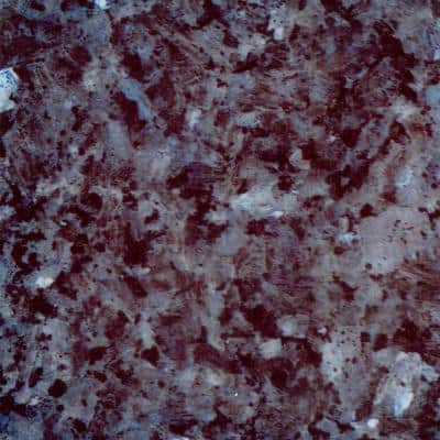 4 in. Stone Effects Vanity Top Sample in Sapphire