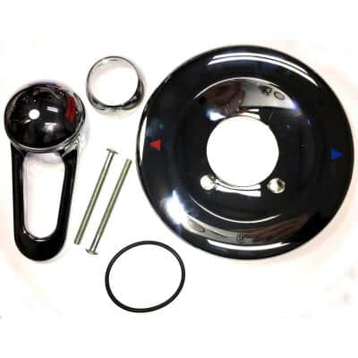 JAG Series 1-Handle Volume Control Trim Kit for Briggs Shower Systems (Valve Not Included)