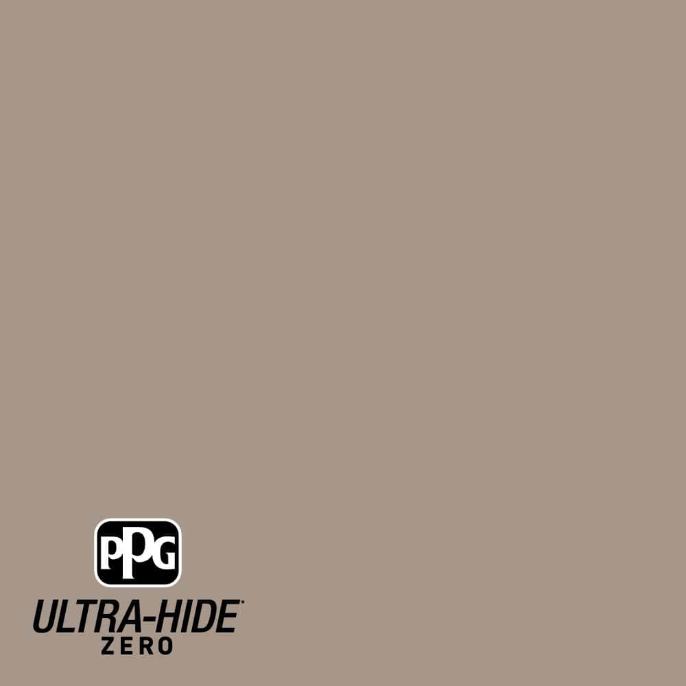 Ppg Ultra Hide Zero 1 Gal Ppg1020 5 Earl Gray Satin Interior Paint Ppg1020 5z 01sa The Home Depot