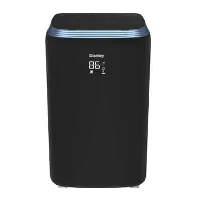 13,000 BTU (8,000 SACC) 3-in-1 Portable Air Conditioner in Black