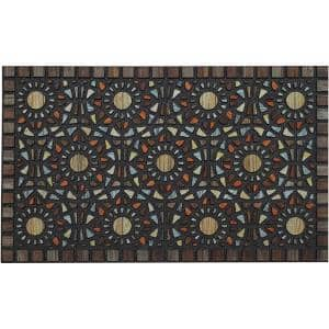 Entranced Mosaic Grain 18 in. x 30 in. Doorscapes Mat