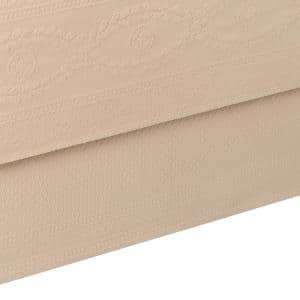 Williamsburg Abby Linen Solid Twin Bed Skirt