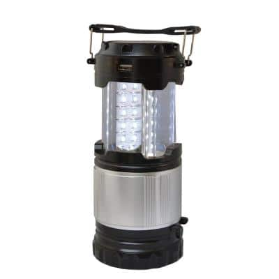 30-LED Indoor/Outdoor Rechargeable Solar Lantern