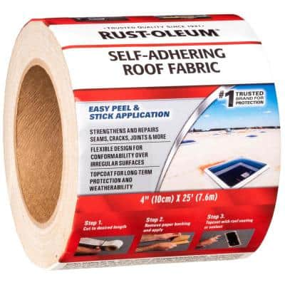 4 in. x 300 in. Roof Patch Self Adhering Tape (4-Pack)