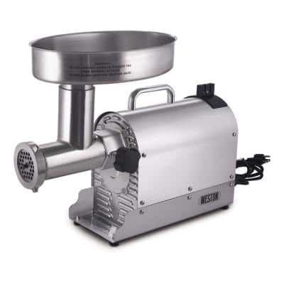Pro Series #12 1 HP Stainless Steel Electric Meat Grinder