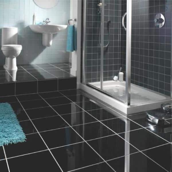 Honed Granite Floor, Bathroom Granite Tiles