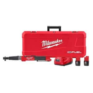 M12 FUEL ONE-KEY 12-Volt Lithium-Ion Brushless Cordless 1/2 in. Digital Torque Wrench Kit with Two 2.0 Ah Batteries