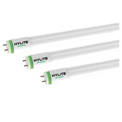 4 ft. OptiMax Multi-Mode LED Tubelight 18W 42W Fluorescent Equivalent 5000K 2250 Lumens UL Type A/B DLC Listed (30-Pack)