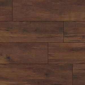 Aubrey Chestnut Grove 9 in. x 60 in. Rigid Core Luxury Vinyl Plank Flooring (22.44 sq. ft./case)
