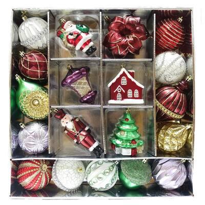 HAH Ornament Set Festive Garnet (19-Count)