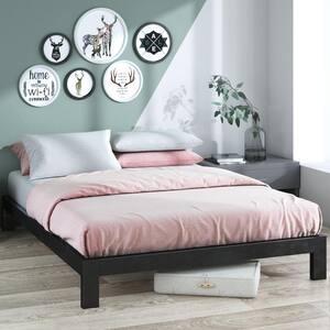 Arnav Twin Black Metal Platform Bed Frame
