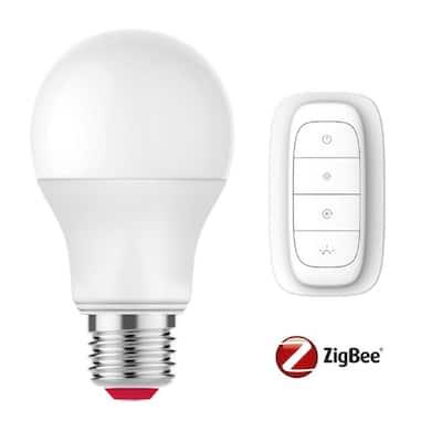 60-Watt Equivalent A19 SMART LED Light Bulb Tunable White Starter Kit (1-Bulb)