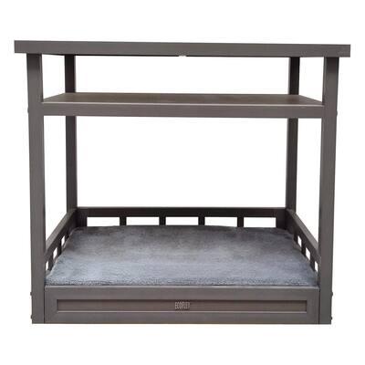 ecoFlex Medium Grey Dog Bed Nightstand