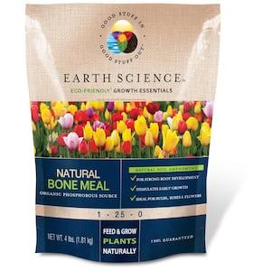 4 lbs. Organic All-Purpose Bone Meal Plant Food Fertilizer